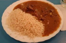 Receta carne de cerdo en salsa roja