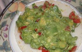 Receta de Guacamole mexicano autentico