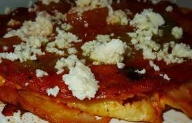 Receta y Preparación Enchiladas Sonorenses