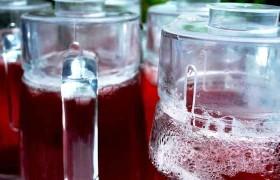Receta y preparación de refresco de Jamaica